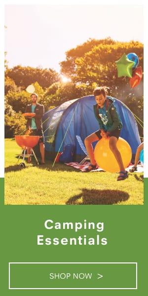 Shop camping essentials