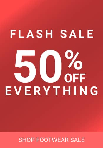 flash sale footwear