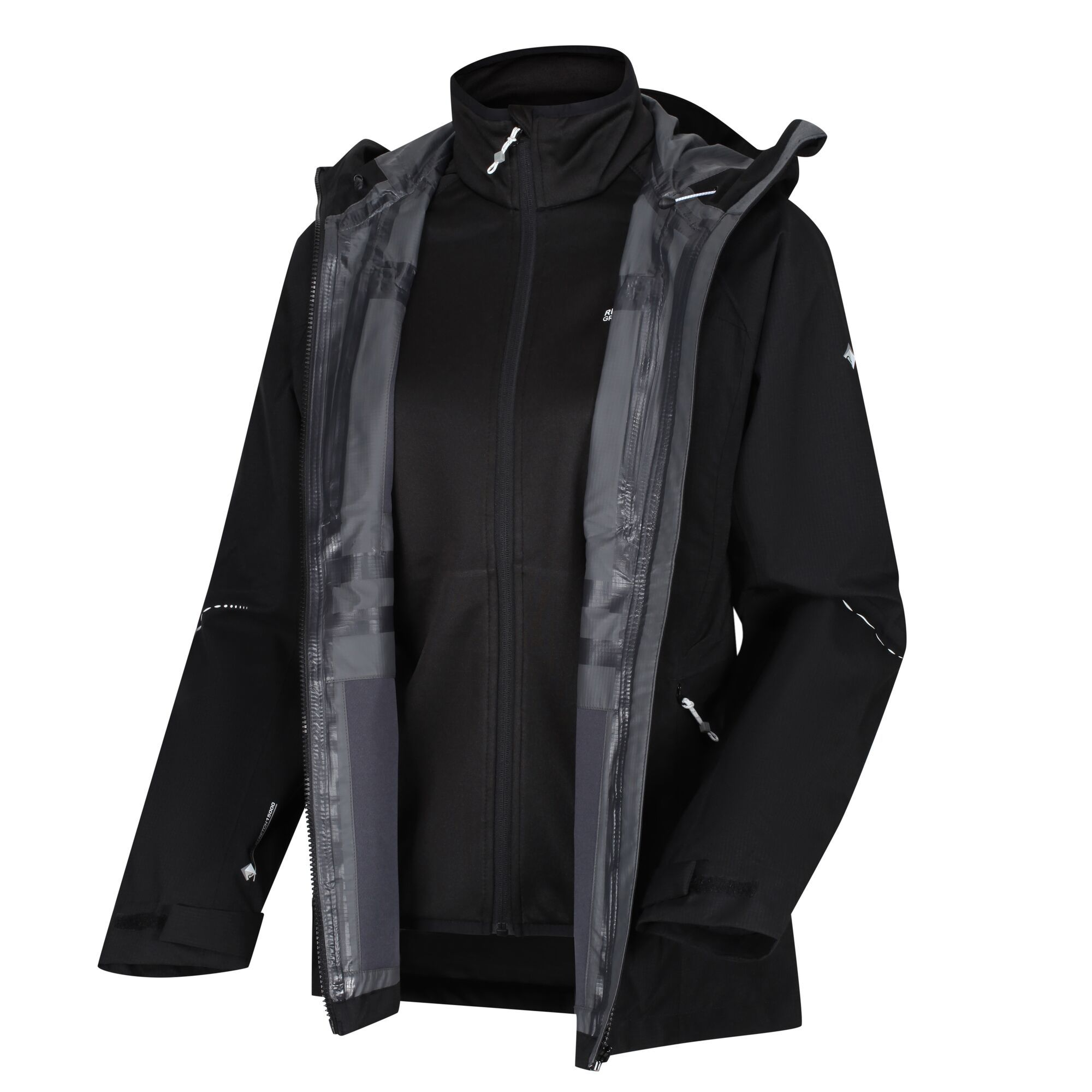 Women's 3 In 1 Waterproof jacket