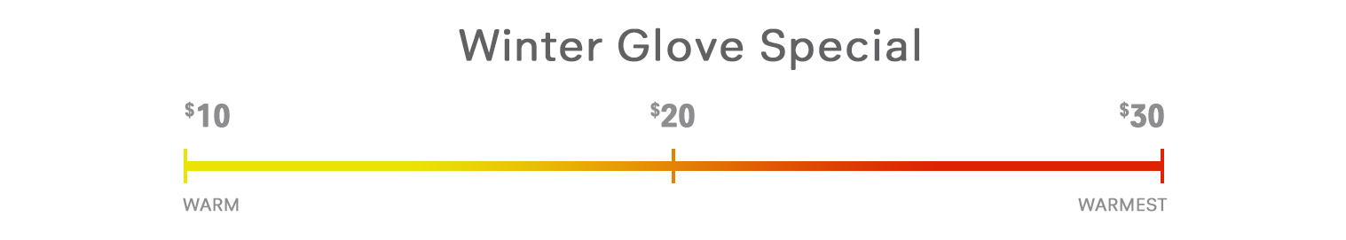 Holiday Glove Speical
